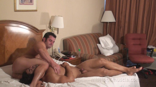 Mission4Muscle Muscle Worship Wrestling - Frank The Tank and Corleone Gay Extreme