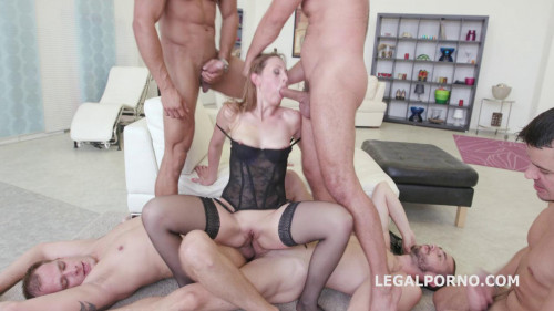 Five on one Luca Bella No Pussy Dap Tp Manhandle Ball Deep Gapes New Milf Joins (2016)