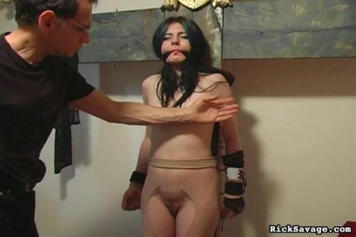 Bound Beaten Gia BDSM