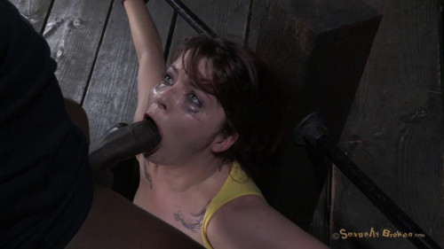 DOWNLOAD from FILESMONSTER: bdsm SB Tiny 410 Jessi Palmer gets face fucked into oblivion