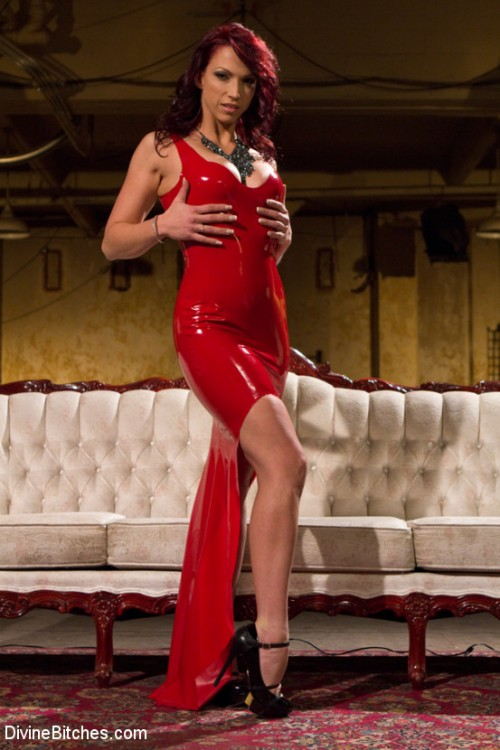 Red Hot Wet Tease Femdom and Strapon