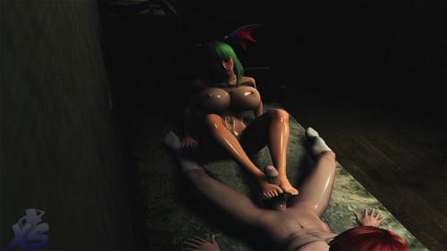 Night With Succubus 3D Porno