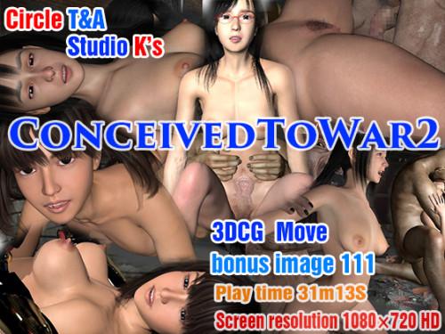 ConceivedToWar2 3D Porno