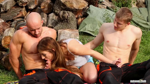 Real Men Work That Wood Bisexuals