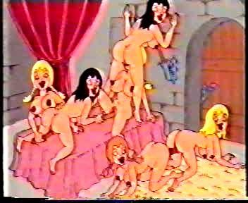 Depraved Snow White and the Seven Dwarfs Cartoons