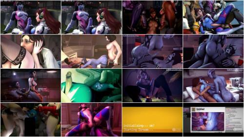 Digital Vixens Futunari Compilation Part 1 3D Porno