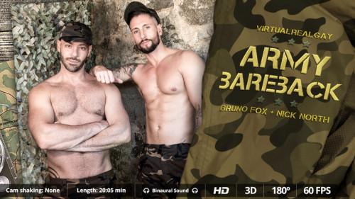 Virtual Real Gay - Army Bareback (Android/iPhone) Gay 3D stereo