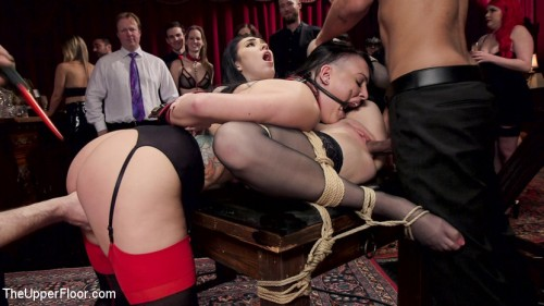 Fresh Submissive Babes Tied Tight & Anally Punished BDSM