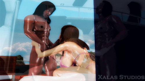 Orgy Yacht Party 3D Porno
