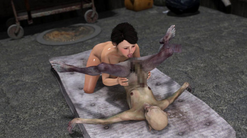 Strange Ero Tales Spirit Alley 3D Porno
