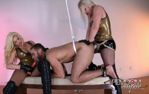 Lexi Sindel Summer Brielle - Deep Double Dicking Femdom and Strapon