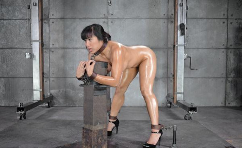 Sexy and Hot Filipina Mia Li is Bound, Oiled, Brutally Face Fucked and drilled with cock!