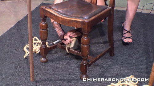 Scene Bondage On Chair (Tracey Lain) ChimeraBondage BDSM