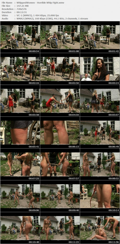 WhippedWomen - Horrible Whip Fight BDSM