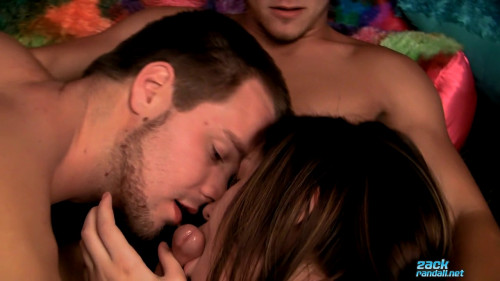 Billy Gets Fucked In A Threesome! Bisexuals