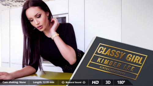 Classy girl 3D stereo
