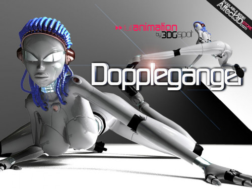 Doppelganger 3D HD 3D Porno