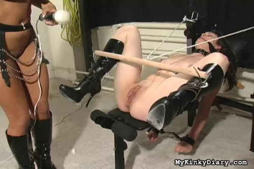 DOWNLOAD from FILESMONSTER: bdsm Now they are painfully stretched with thin strings and tied to her toes