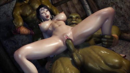 Secret of Beauty Orc Ritual 3D Porno