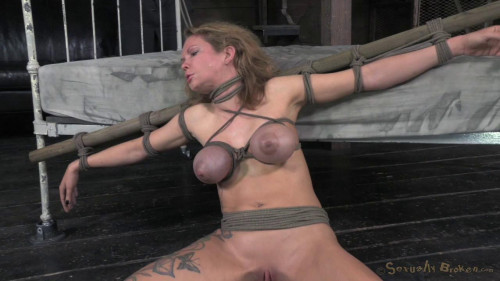 Big breasted Rain DeGrey takes on 10 inches BDSM