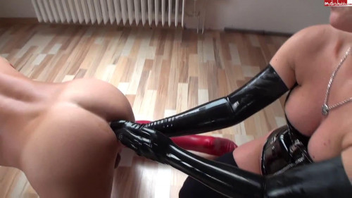 DOWNLOAD from FILESMONSTER: fisting and dildo Latex Double Fist Anal