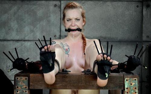 She is a true bondage slut and it shows BDSM