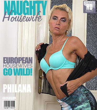 Philana – Horny housewife fingering herself HD 720p