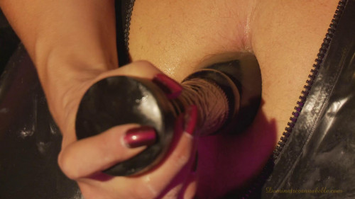 Mistress fucks slave in the ass Femdom and Strapon