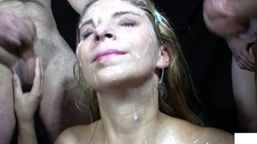 Spraying tons of sperm