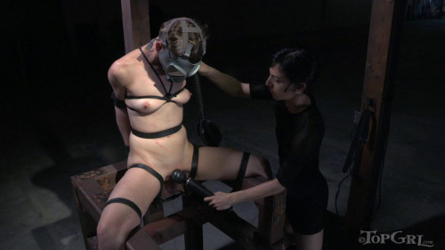 She doesn't express herself often... unless she is in bondage BDSM