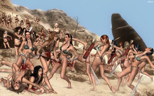 Amazonia.EroticIllusions SiteRip 3D Porno Toon Packs
