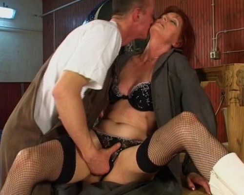 Hardcore anal penetration Old and Young