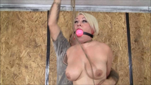 DOWNLOAD from FILESMONSTER: bdsm Introducing Scarlett DeMitro In Her First Real Hogtie