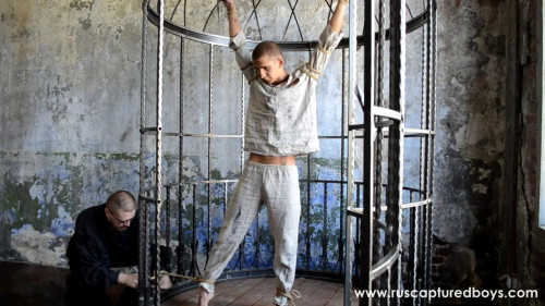 RusCapturedBoys - Skinny Prisoner #108 Part I Gay BDSM
