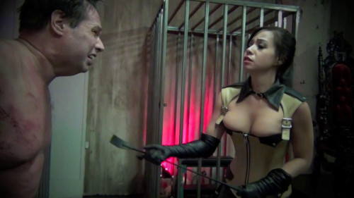 DOWNLOAD from FILESMONSTER: femdom and strapon Whips to his nipples