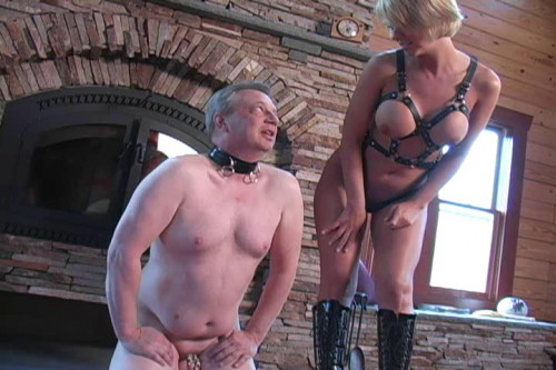 Cum For Dinner Femdom and Strapon