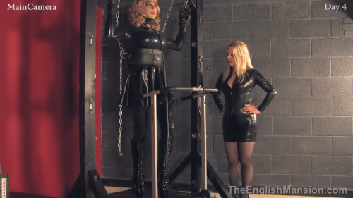 Real-Time Footage 247 Slavery - Day 4 Femdom and Strapon