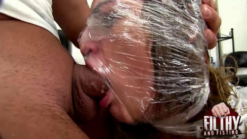 Pussy Fisting at the hairdresser BDSM