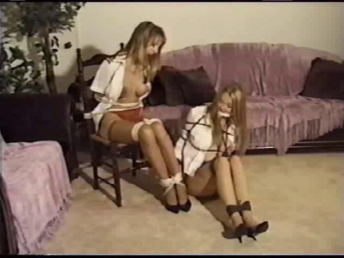 Two tales of costumed damsels-in-distress are presented for your enjoymen BDSM