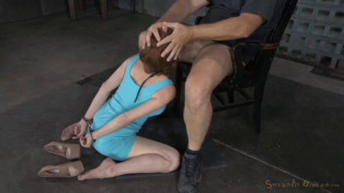 Veronica Avluv gets blindfolded BDSM