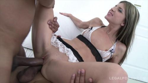 BBC DP For Petite Russian Slut Gina Gerson