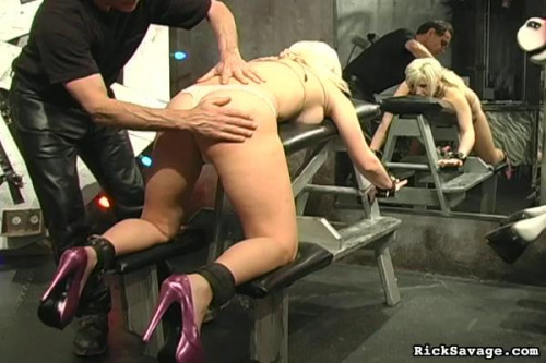 Rick Savage - Submissive Blonde Kimberly BDSM