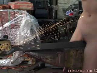 DOWNLOAD from FILESMONSTER:  BDSM Extreme Torture  Garage Molly   InSex