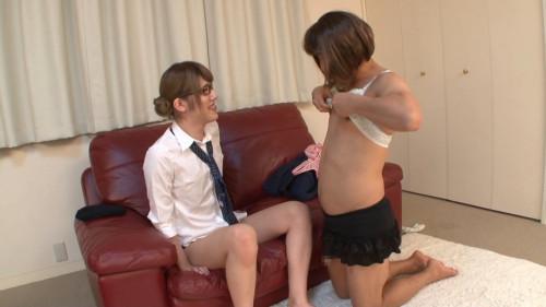 New Half-large Uniform Aikawa Nanami+ Transsexual
