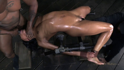 Classically Trained Dancer Severely Bent Skull Fucked BDSM