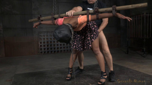 Chanell Heart dick down without mercy BDSM