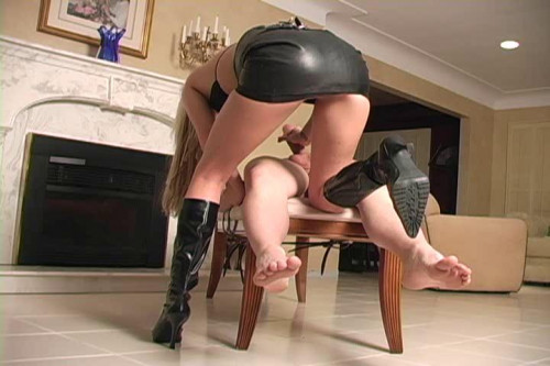 Milking Day Femdom and Strapon