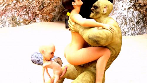 The Hazards Of An Adventuress 3D Porno