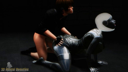 Virtual Robo Pussy Reloaded 3D Porno