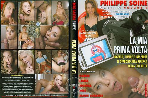 DOWNLOAD from FILESMONSTER: anal Casting Philippe Soine Volume 4 La Mia Prima Volta